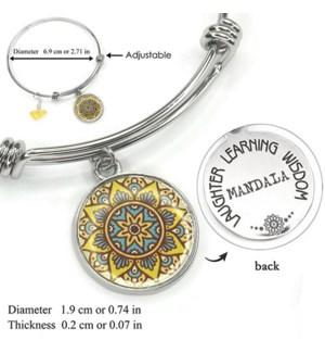 Mandala Yellow- Amber / UPC= 684500055809