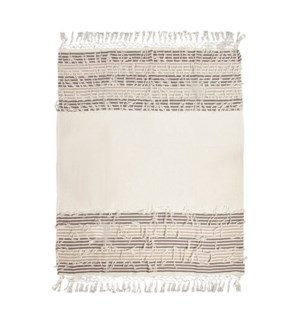 ON THE FRINGE COTTON EMBROIDERED TH