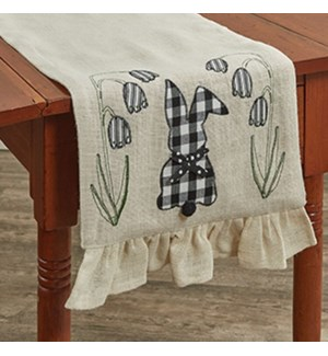 COTTON TAILS TABLE RUNNER 14X42