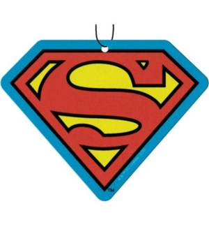 SUPERMAN LOGO AIR FRESHENER       10004