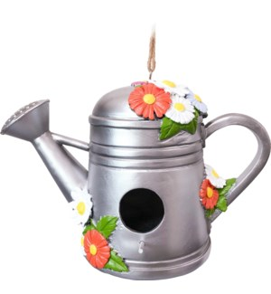 WATERING CAN BIRDHOUSE        10099
