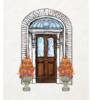 11X14  - AUTUMN FRONT DOOR