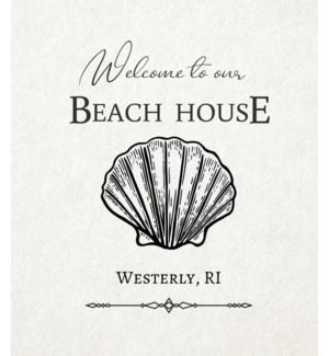 11X14  - BEACH HOUSE