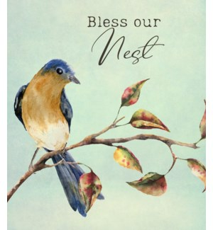 11X14  - BLESS OUR NEST