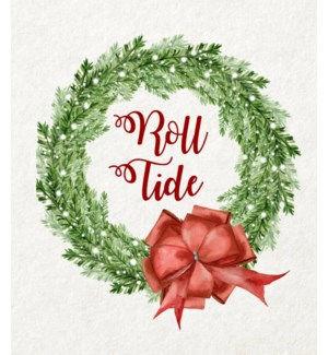 11X14  - COLLEGIATE CHRISTMAS WREATH