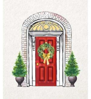 11X14  - CHRISTMAS FRONT DOOR