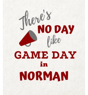 11X14  - NO DAY LIKE GAME DAY