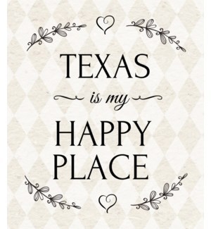 11X14  - HAPPY PLACE HOME
