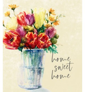 11X14  - HOME SWEET HOME FLORAL