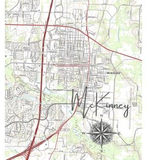 11X14  - HOMETOWN MAP