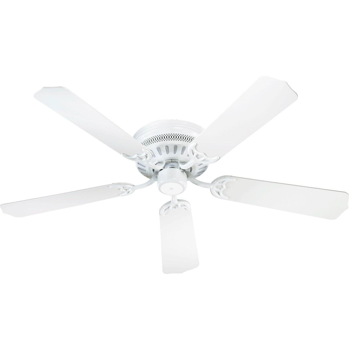 Custom Hugger 42-in 5 Blade White Traditional Ceiling Fan