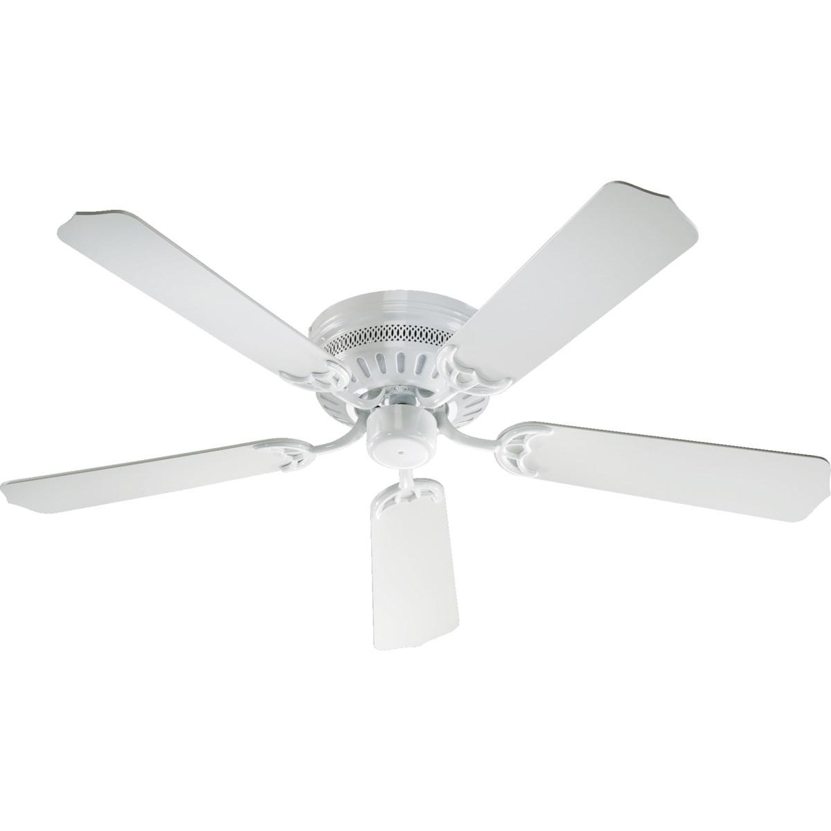 Custom Hugger 52-in 5 Blade White Traditional Ceiling Fan