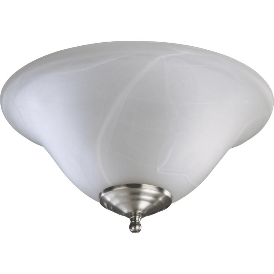 FAUX ALAB LED BWL-STN/WH