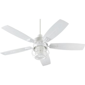 Galveston 52-in Studio White Indoor/Outdoor Ceiling Fan (5-Blade)