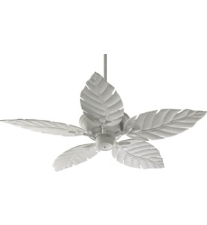 Monaco 52-in Studio White Indoor/Outdoor Ceiling Fan (5-Blade)