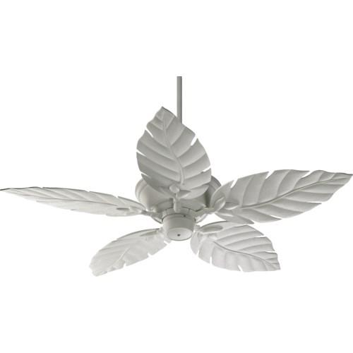 Monaco 52-in Studio White Indoor/Outdoor Ceiling Fan (5-Blade)