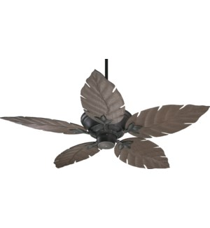 Monaco 52-in Old World Indoor/Outdoor Ceiling Fan (5-Blade)