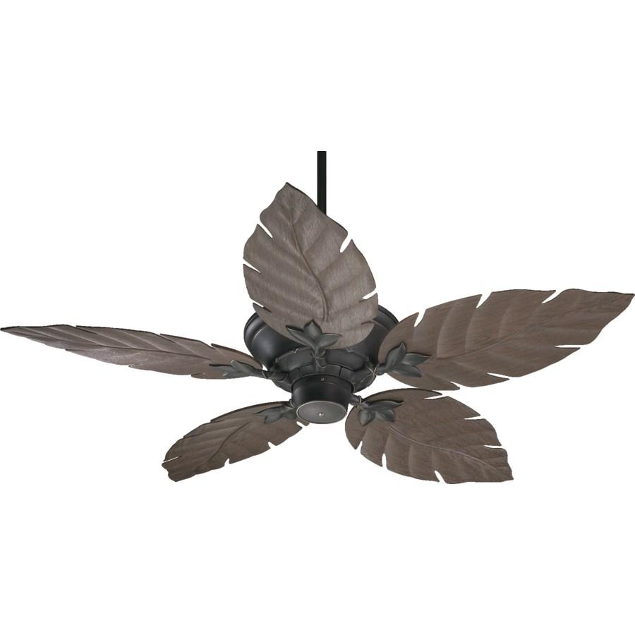 Monaco 52-in Old World Indoor/Outdoor Ceiling Fan (5-Blade)
