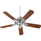 HUDSON 52-in Galvanized Indoor/Outdoor Ceiling Fan (5-Blade)