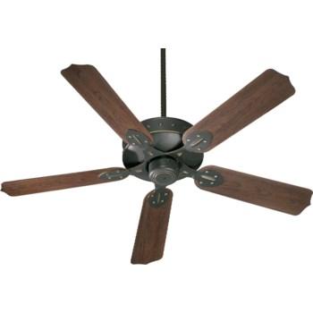 HUDSON 52-in Old World Indoor/Outdoor Ceiling Fan (5-Blade)