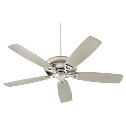 Alto Patio 62-in Satin Nickel Indoor/Outdoor Ceiling Fan (5-Blade)