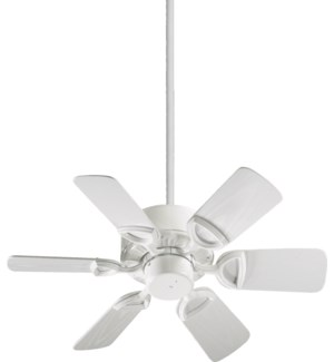 Estate Patio 30-in White Indoor/Outdoor Ceiling Fan (6-Blade)