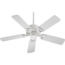 Estate Patio 42-in White Indoor/Outdoor Ceiling Fan (5-Blade)
