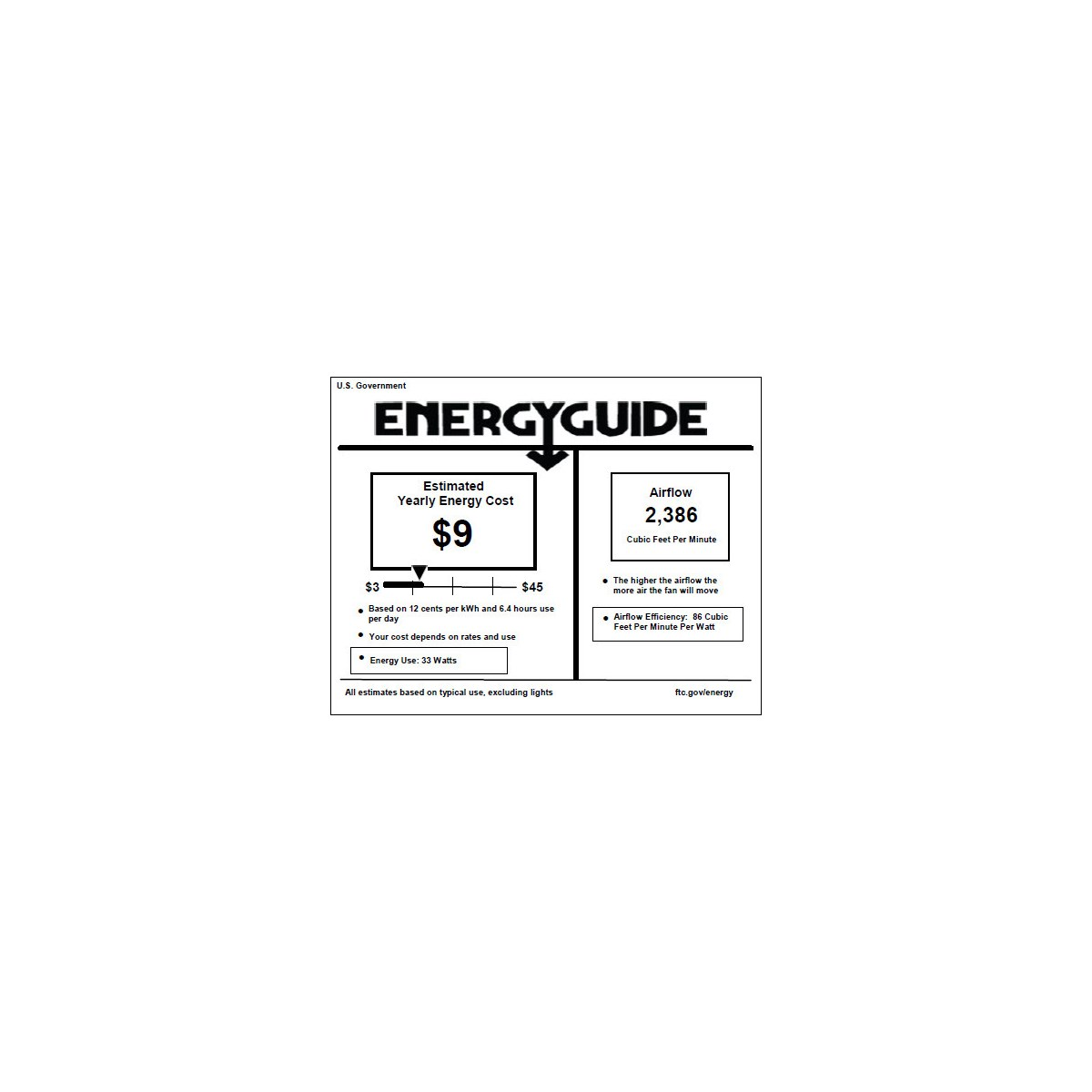 Estate Patio 42-in Galvanized Indoor/Outdoor Ceiling Fan (5-Blade)