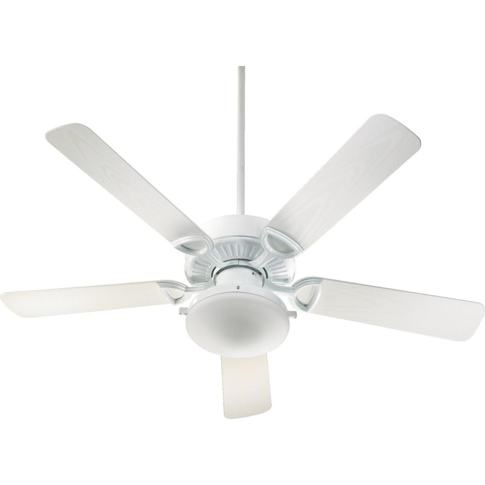 Estate Patio 52-in White Indoor/Outdoor Ceiling Fan (5-Blade)