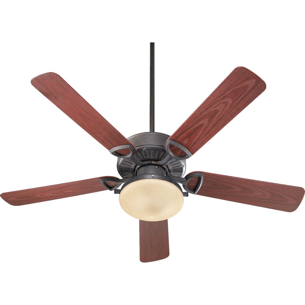 Estate Patio 52-in Toasted Sienna Indoor/Outdoor Ceiling Fan (5-Blade)