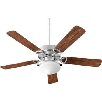 Estate Patio 52-in Galvanized Indoor/Outdoor Ceiling Fan (5-Blade)