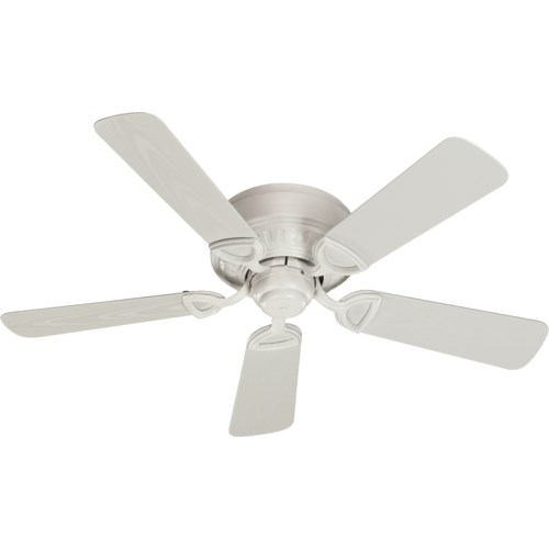 Medallion Patio 42-in Studio White Indoor/Outdoor Ceiling Fan (5-Blade)
