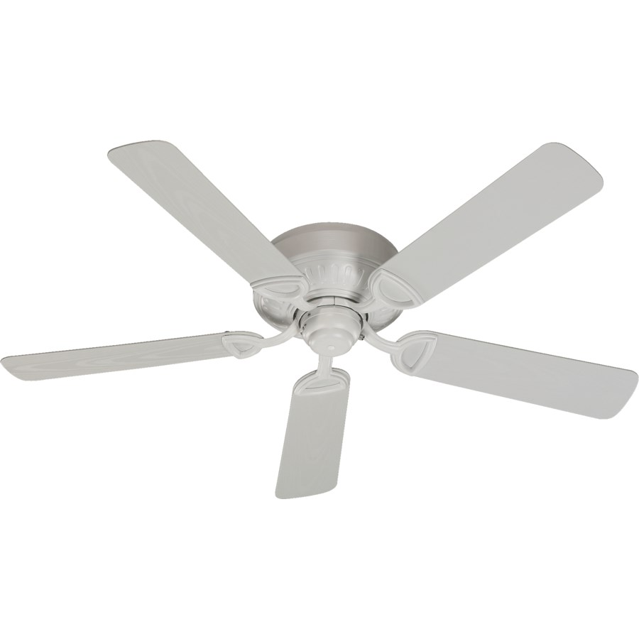 Medallion Patio 52-in Studio White Indoor/Outdoor Ceiling Fan (5-Blade)