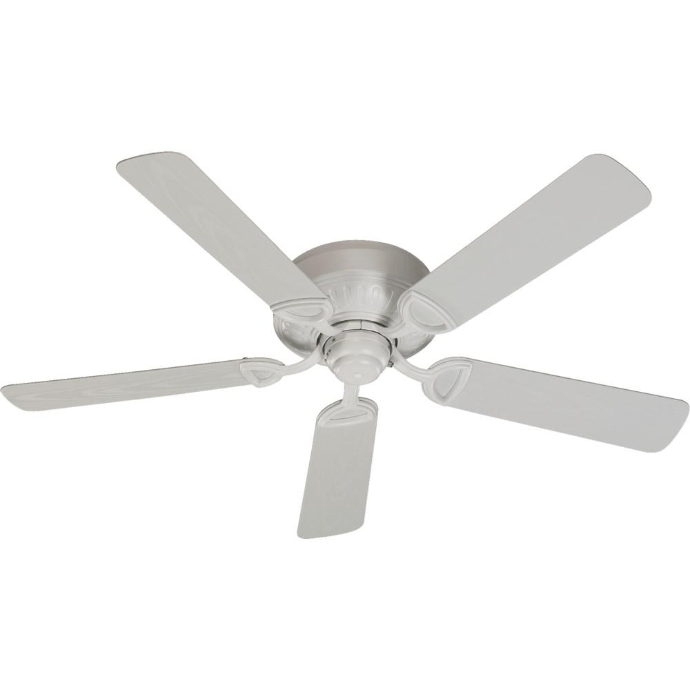 Medallion Patio 52-in Studio White Indoor/Outdoor Ceiling Fan (5-Blade)