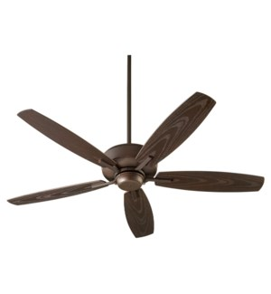 Breeze Patio 52-in Oiled Bronze Indoor/Outdoor Ceiling Fan (5-Blade)