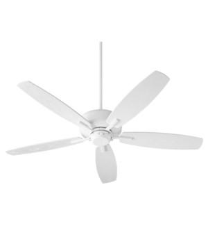 Breeze Patio 52-in Studio White Indoor/Outdoor Ceiling Fan (5-Blade)