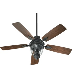 Georgia 52-in Old World  Indoor/Outdoor Ceiling Fan (5-Blade)