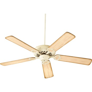 Monticello 52-in 5 Blade Persian White Traditional Ceiling Fan