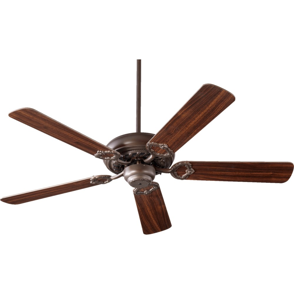 Monticello 52-in 5 Blade Oiled Bronze Traditional Ceiling Fan