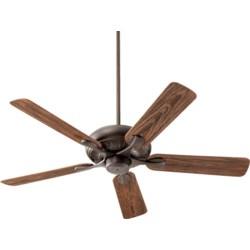 Pinnacle Patio 52-in Oiled Bronze Indoor/Outdoor Ceiling Fan (5-Blade)
