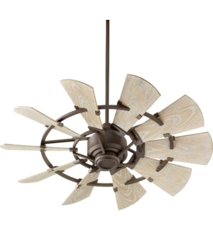 Windmill 44-in Oiled Bronze Indoor/Outdoor Ceiling Fan (10-Blade)