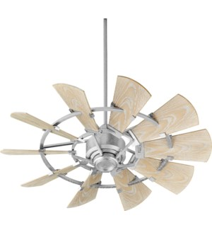 Windmill 44-in Galvanized  Indoor/Outdoor Ceiling Fan (10-Blade)