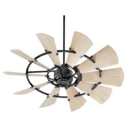 Windmill 52-in Black Indoor/Outdoor Ceiling Fan (10-Blade)