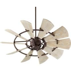 Windmill 52-in Oiled Bronze Indoor/Outdoor Ceiling Fan (10-Blade)