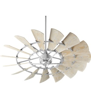 Windmill 60-in Galvanized Indoor/Outdoor Ceiling Fan (15-Blade)