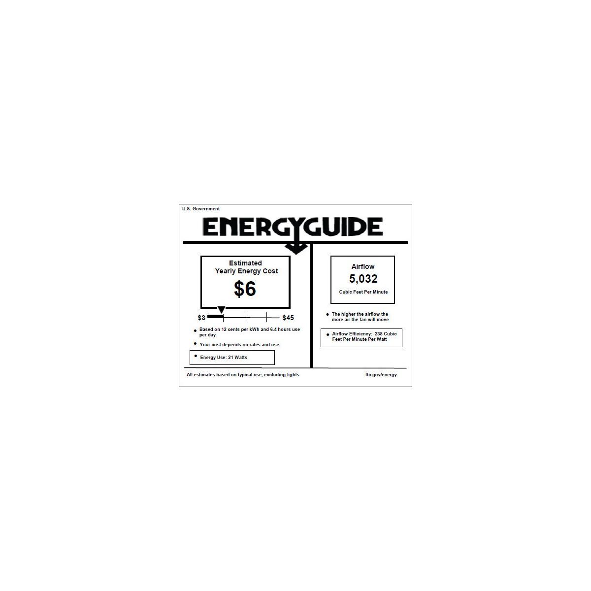 Proxima Patio 60-in Satin Nickel Indoor/Outdoor Ceiling Fan (8-Blade)
