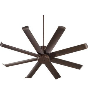 Proxima Patio 60-in Oiled Bronze Indoor/Outdoor Ceiling Fan (8-Blade)