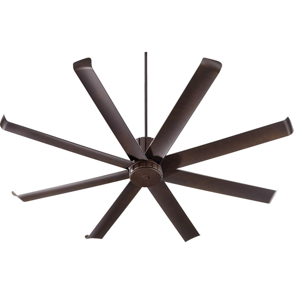 Proxima Patio 72-in Oiled Bronze Indoor/Outdoor Ceiling Fan (8-Blade)