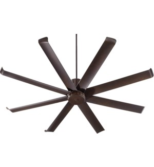 Proxima Patio 72-in Oiled Bronze Indoor/Outdoor Ceiling Fan (8-Blade)