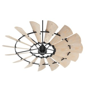 Windmill 72-in Black Indoor/Outdoor Ceiling Fan (15-Blade)